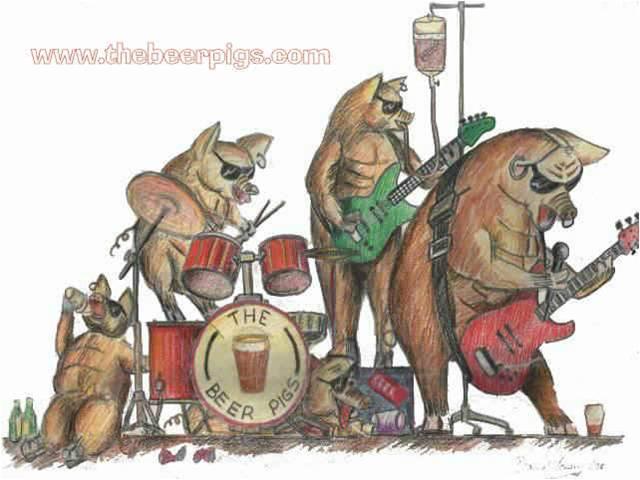 beer pigs